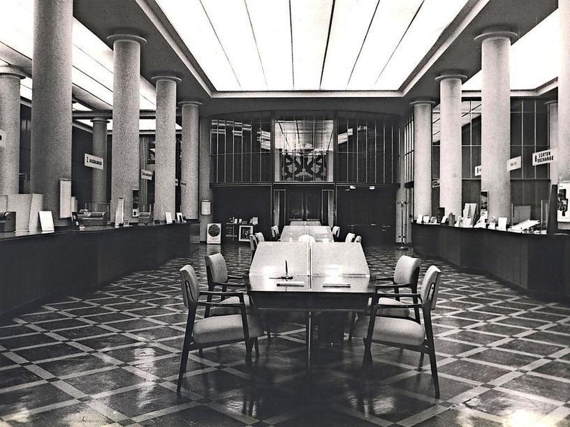 HANNOVER * 1950 Dieses Motiv aus dem Inneren der Deutschen