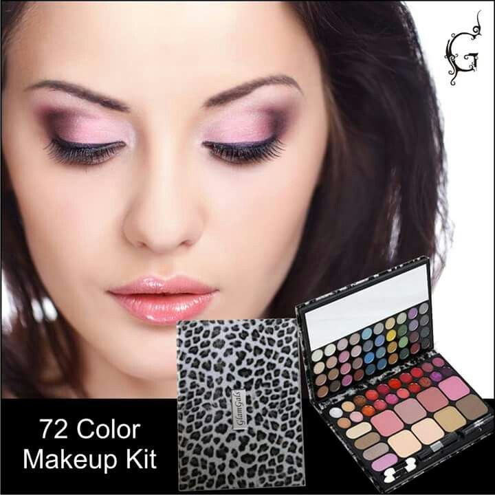 Sometimes to look natural, you need many subtle shades. #GlamitUP with our 72col #MakeUp Kit