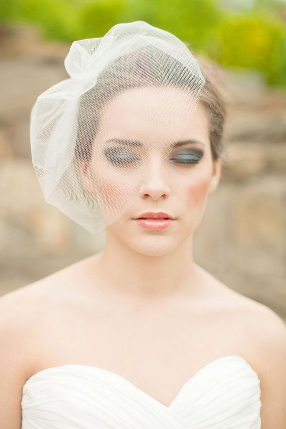 Vintage Wedding Birdcage Veil Inspiration All About Weddings