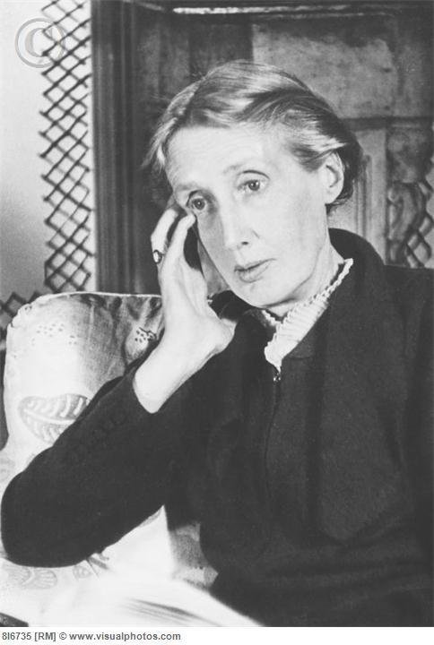 Virginia Woolf Escritores Fotografia Personajes