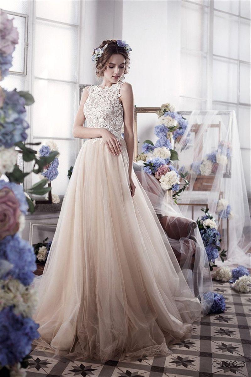 Vintage country wedding dresses  Cash On Delivery Cheap Wedding Dress Boda Bohemia Wedding Dress