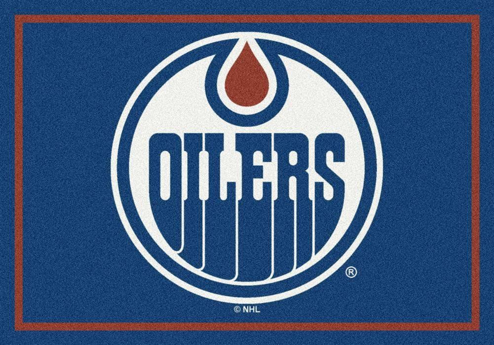 Edmonton Oilers Spirit Mascot Rug