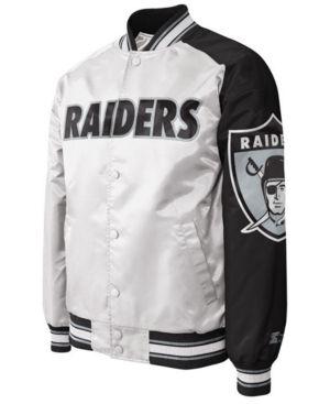 Raiders College Letter Team Name Jersey Hooded Sweatshirt