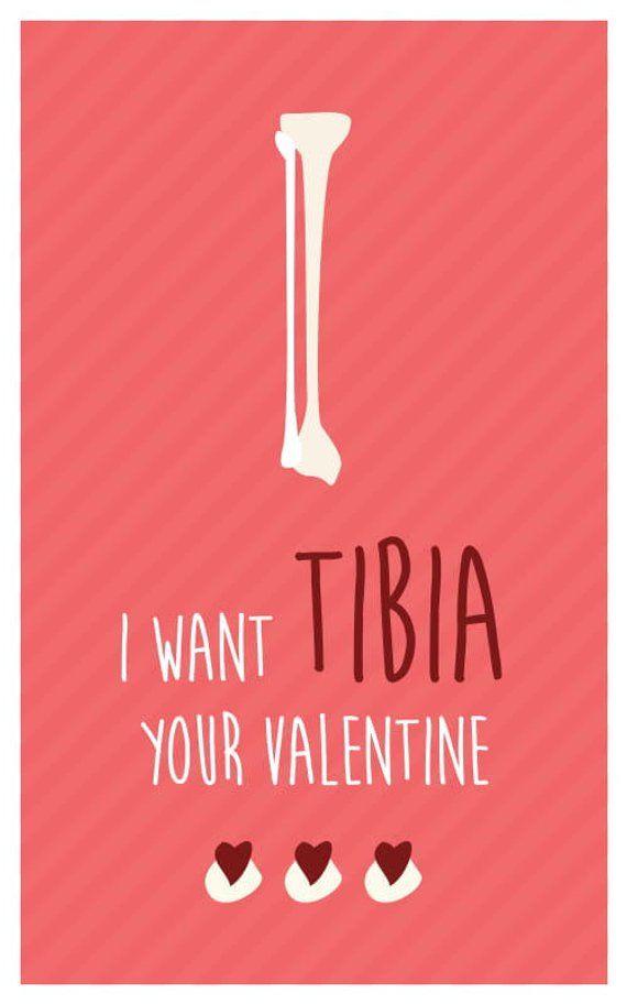 Funny Medical Bones Valentine S Day Card Download 8 Printable Cards Great For Physiotherapists Doctors Med Students Nurses Medical Humor Nursing Valentine Funny Valentines Cards