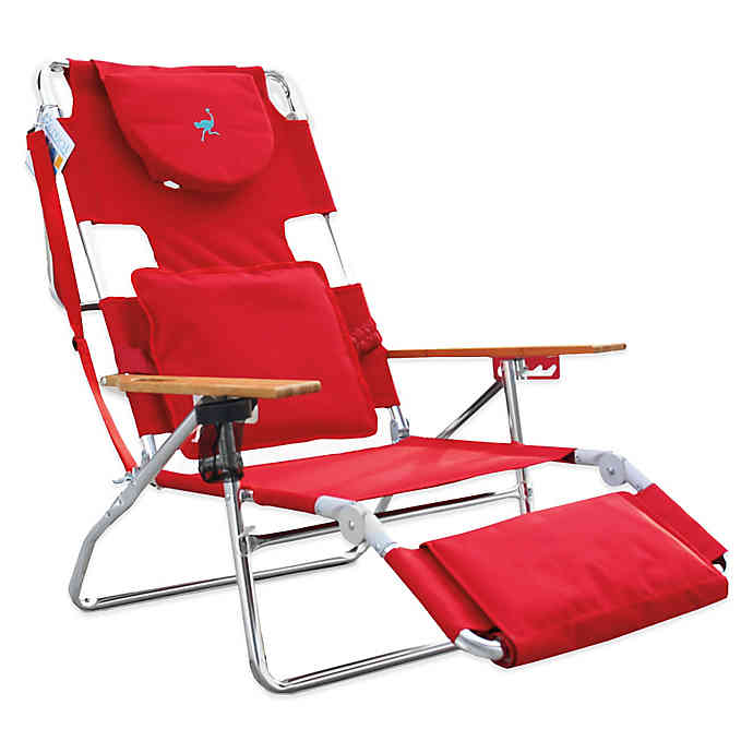 Ostrich 3in1 Deluxe Beach Chair Bed Bath & Beyond