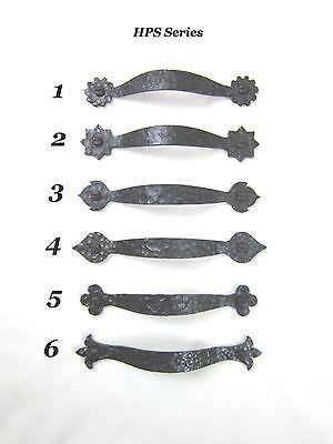 Hps Series Rustic Spanish Style Wrought Iron Cabinet Pull Bushere Son Studio Inc