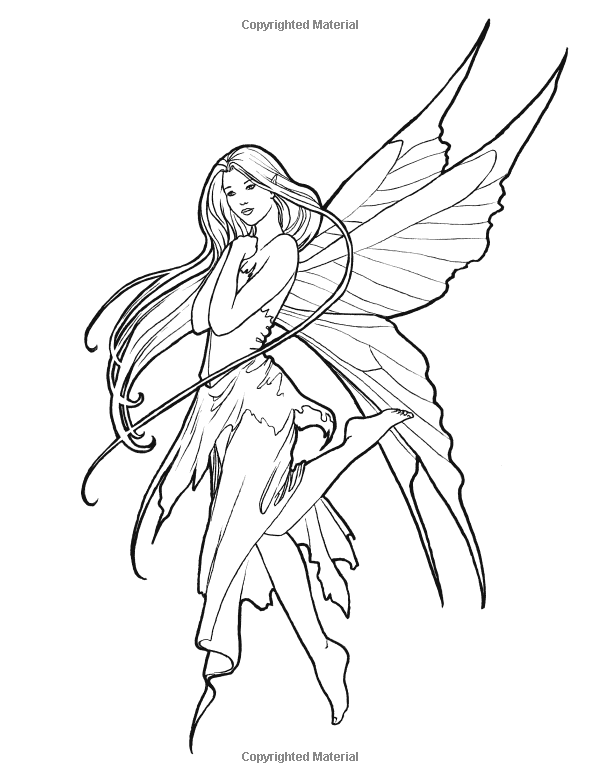 coloring pages of mystical characters - photo#2