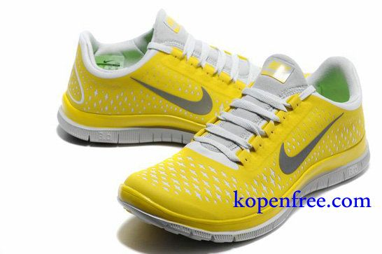 competitive price 2ab15 e4277 Kopen goedkoop Schoenen heren nike free 3.0 v4 (kleur vamp-geel,wit