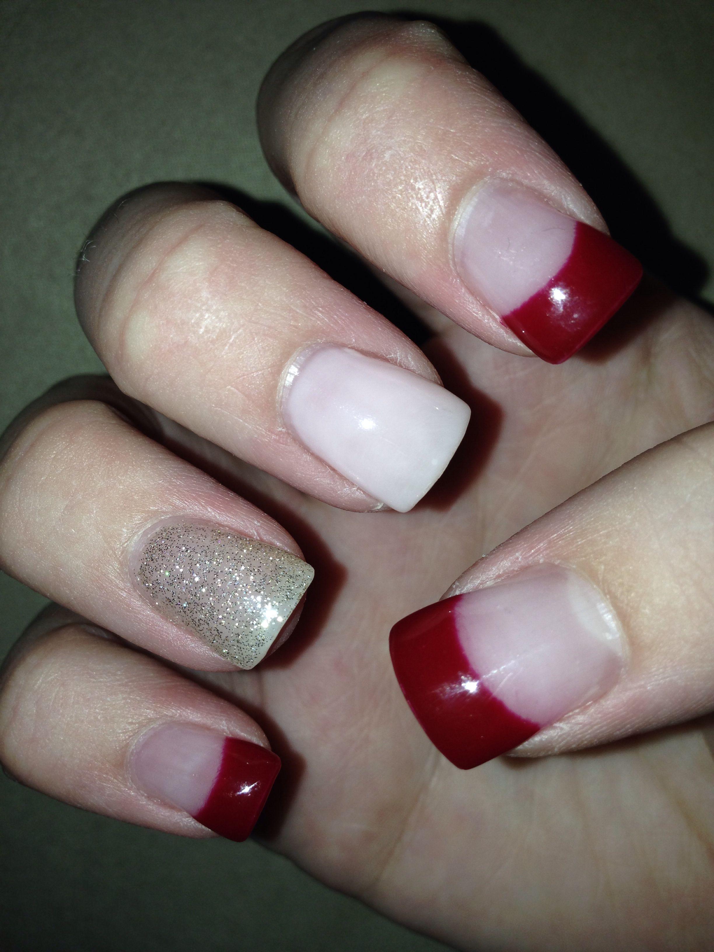 Christmas nails | Shellac nails | Pinterest