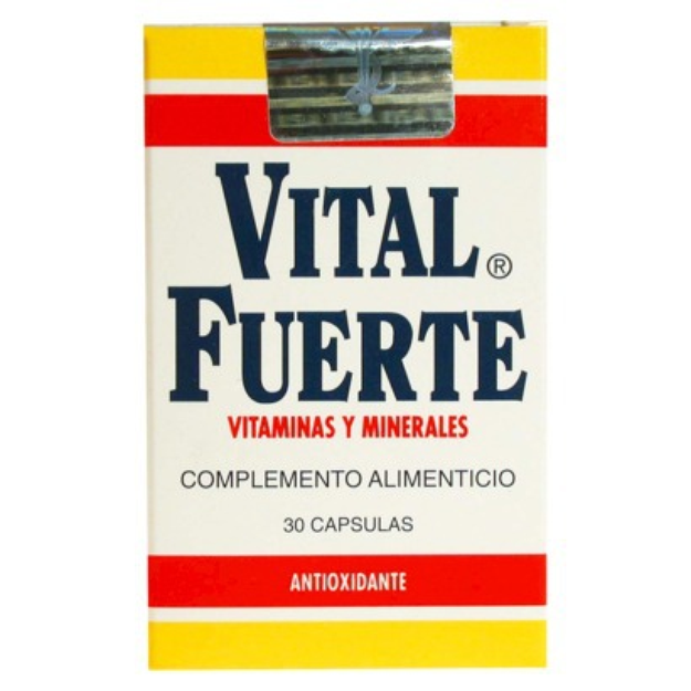I'm learning all about Vital Fuerte Vitamins And Minerals