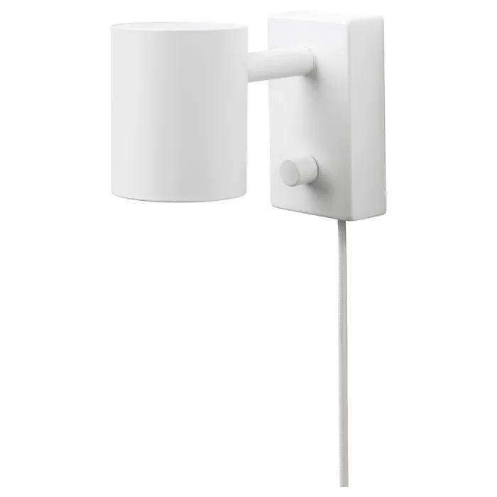 NYMÅNE Vägg läslampa, vit IKEA | Nymåne, Ikea, Vägg