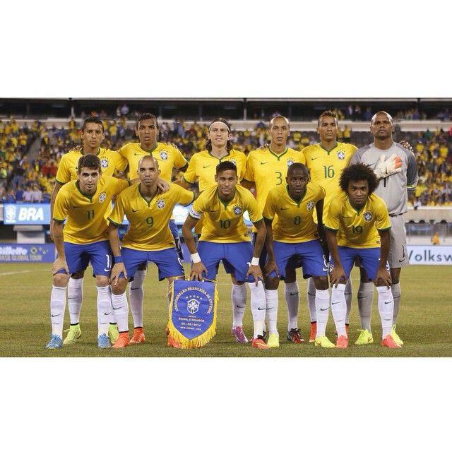国際親善試合 ブラジル1-0エクアドル 米ニュージャージー メットライフスタジアム 2014年9月9日