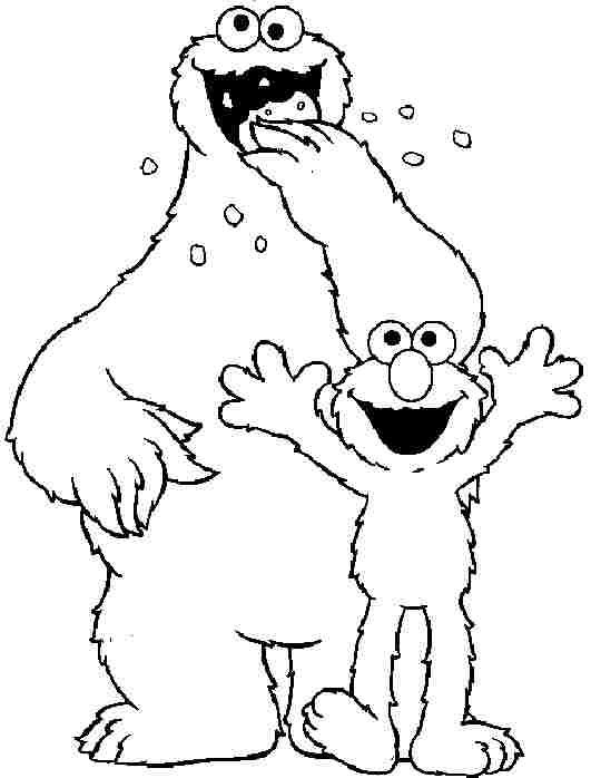 sesame street printable coloring pages colouring pages cartoon