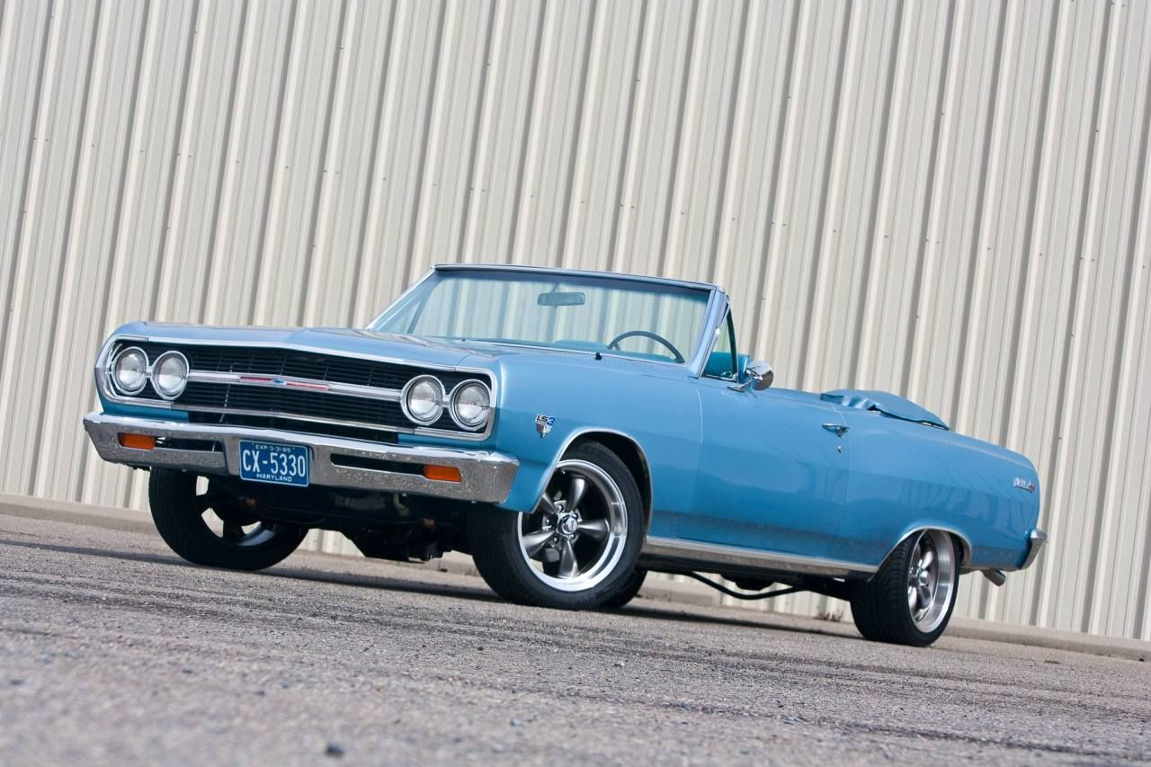 American Muscle Cars… 1965 Chevrolet Chevelle LS3 Convertible ...