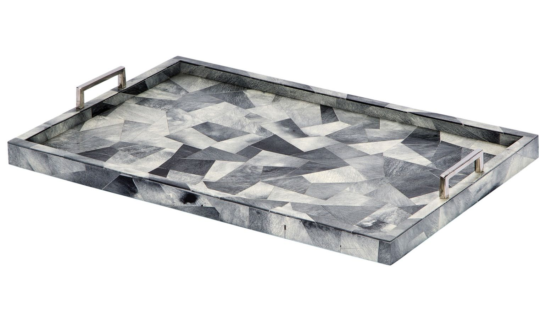 Black Decorative Tray Beauteous Myka Trays Art Deco Contemporary Midcentury Modern Transitional Decorating Inspiration