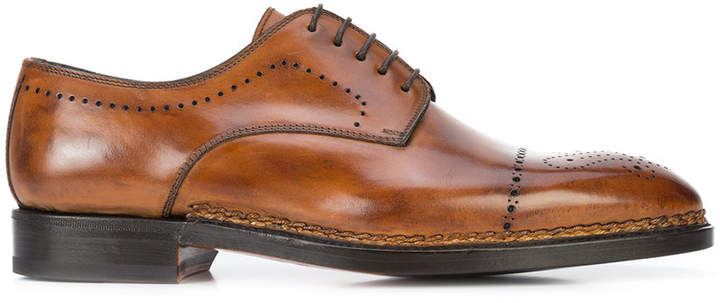 Brerai lace-up shoes - Brown Bontoni xACUfl7