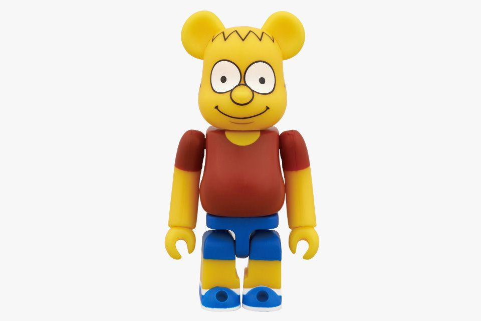 Medicom 100/% Bearbrick ~ The Simpsons Be@rbrick Homer Simpson