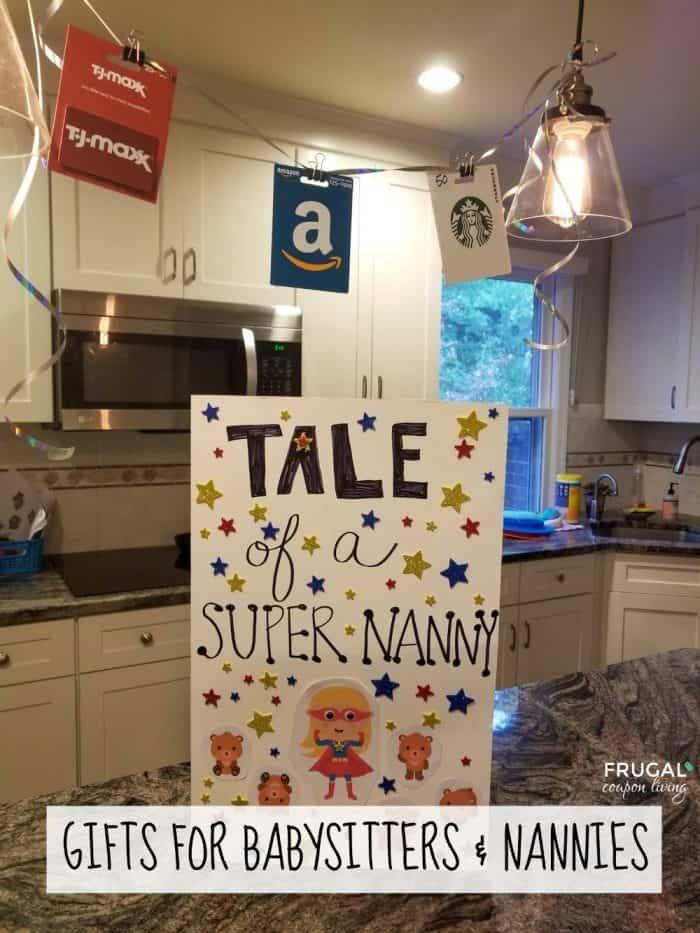 Nanny Appreciation Week Babysitter gifts, Nanny gifts, Nanny