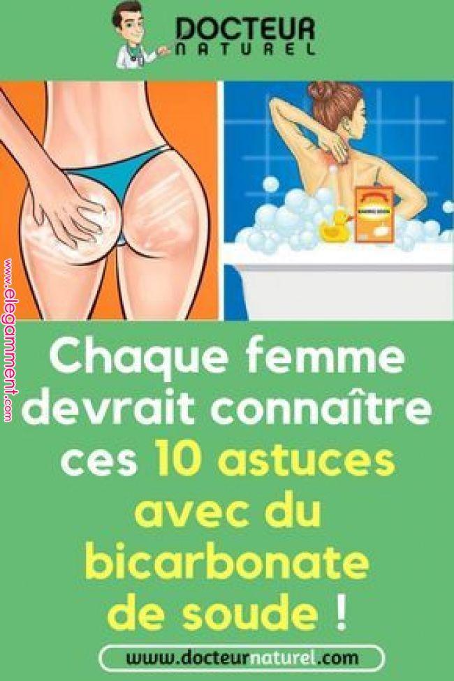 Chaque femme devrait connaître ces 10 conseils avec le bicarbonate de soude