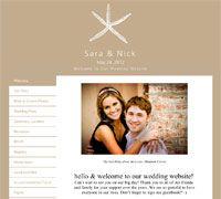 Wedding Wire Etched Starfish Wedding Wire Wedding Website Free Wedding Website
