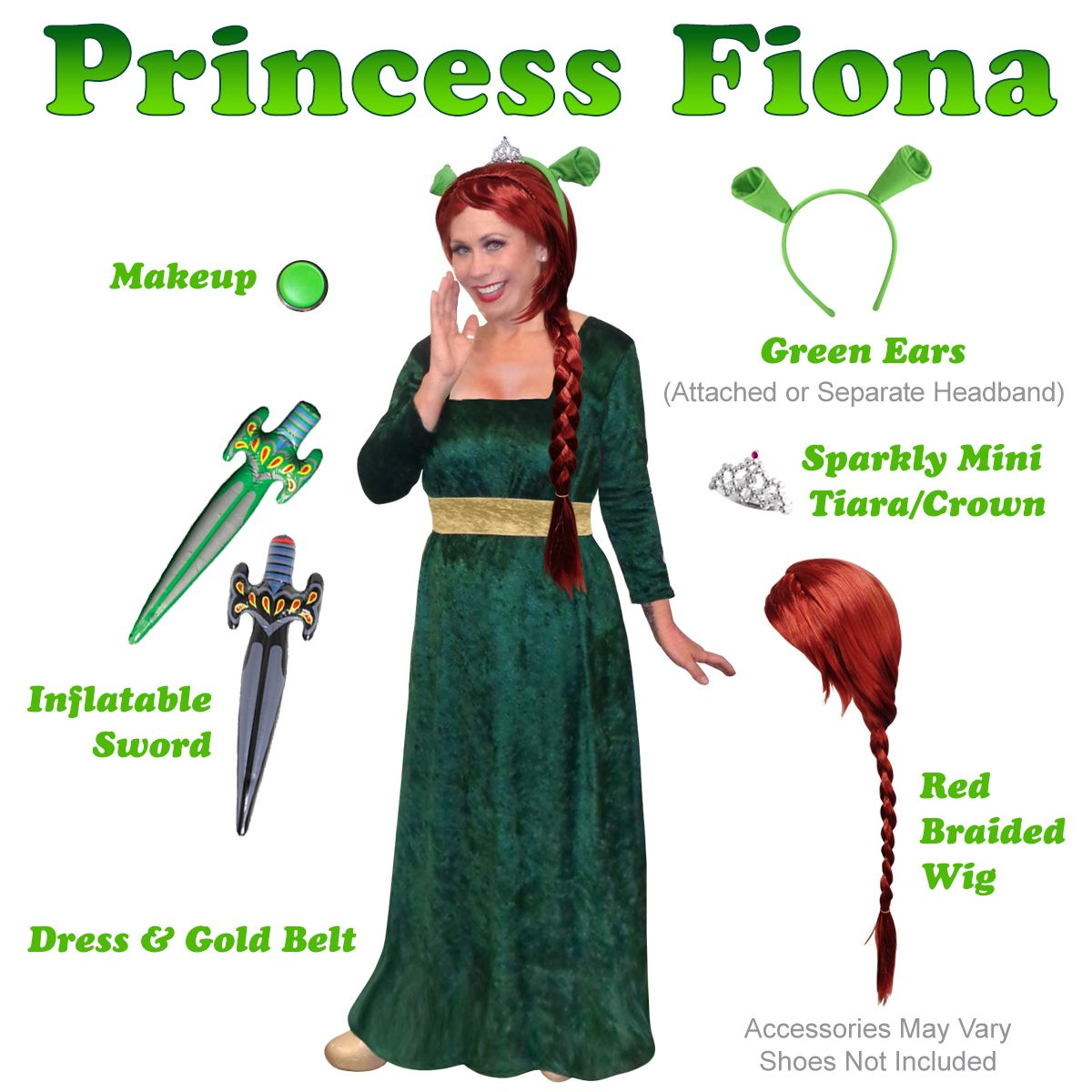 plus size princess fiona costume from shrek plus size and supersize halloween costume