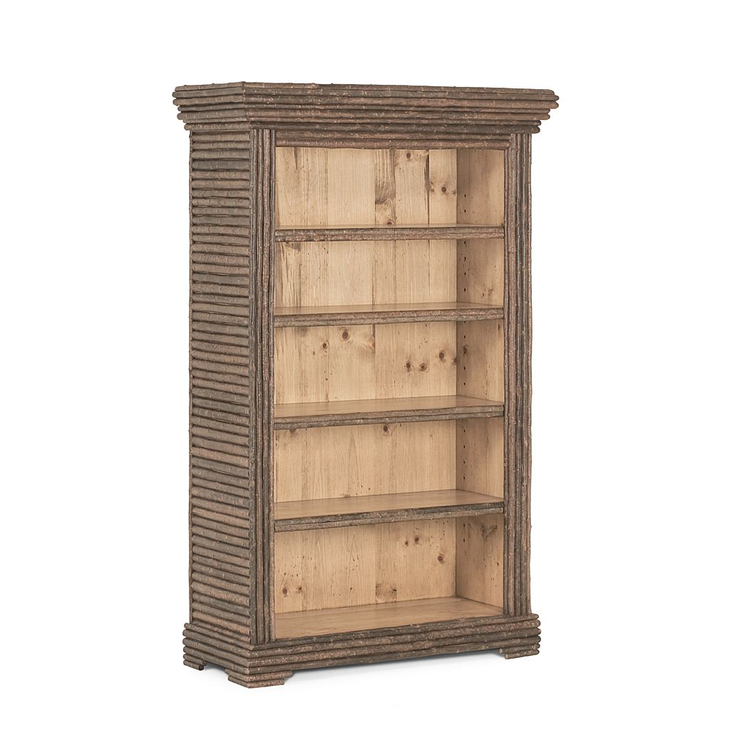Willow Casual Pine Wood 48 Inch Bookcase W Shelves Bookcase
