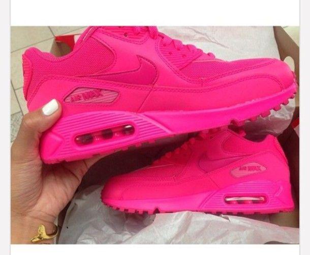 all pink air max 90