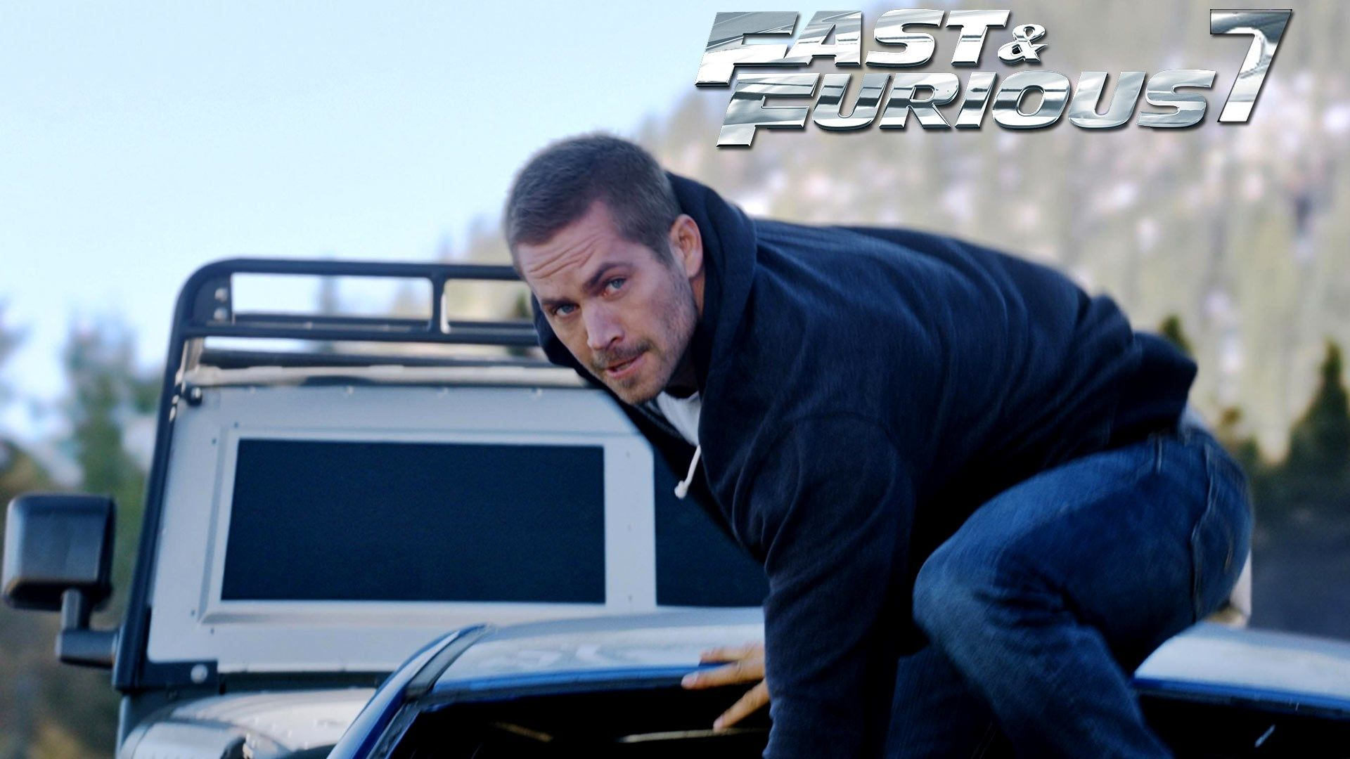 Paul Walker In Fast And Furious 7 Wallpapers Hd