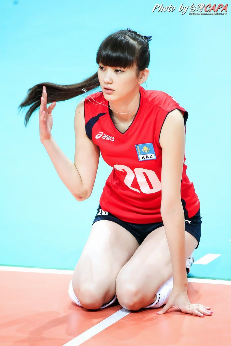 Most Beautiful Volleyball Player Criticised For Joining Japanese Team Pemain Bola Voli Bola Voli Atlet