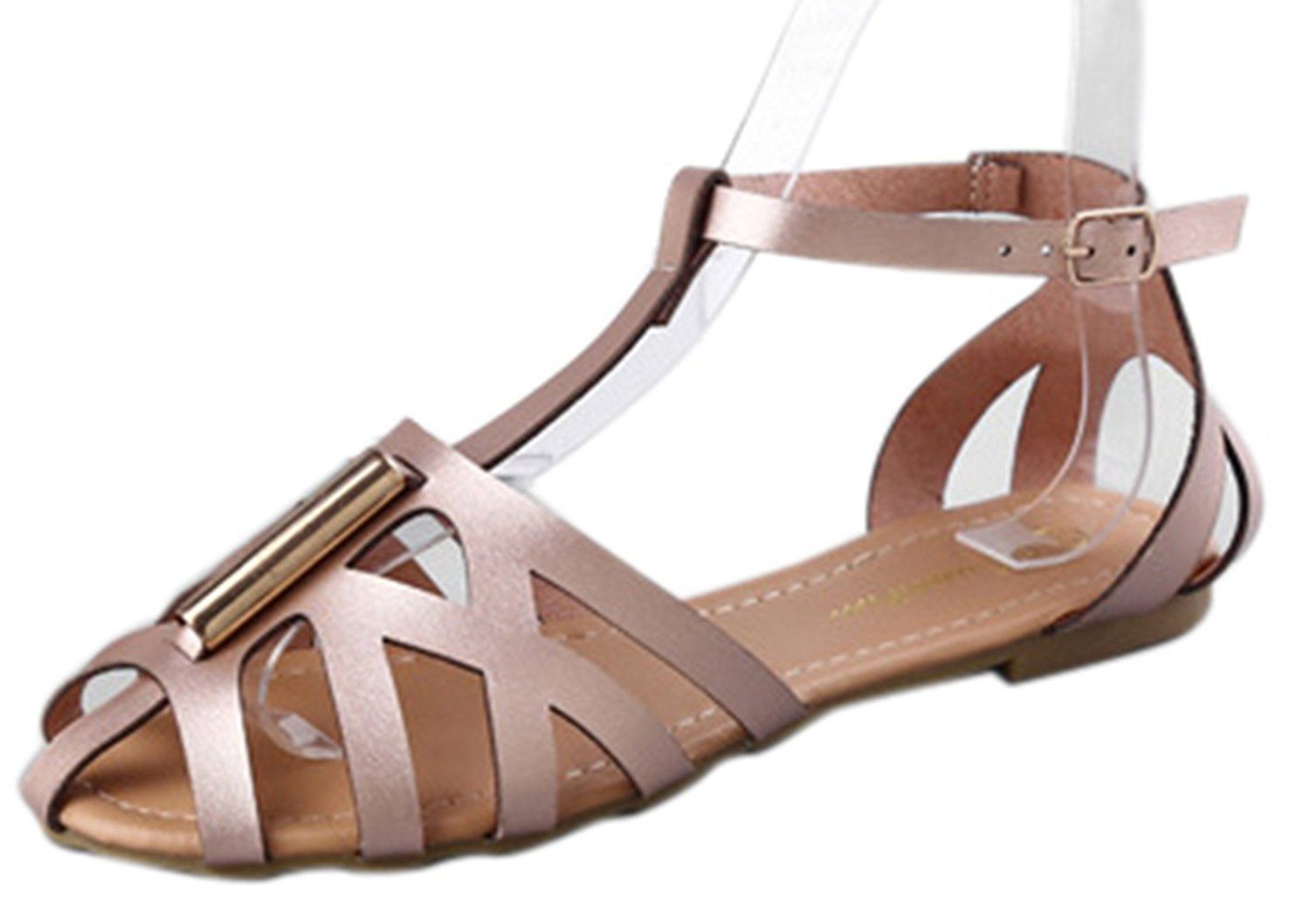 aed6319c2c561f 4Chiclife Women s Strappy Gemma Gladiator Ankle Strap Sandal    Visit the  image link more details.  shoes