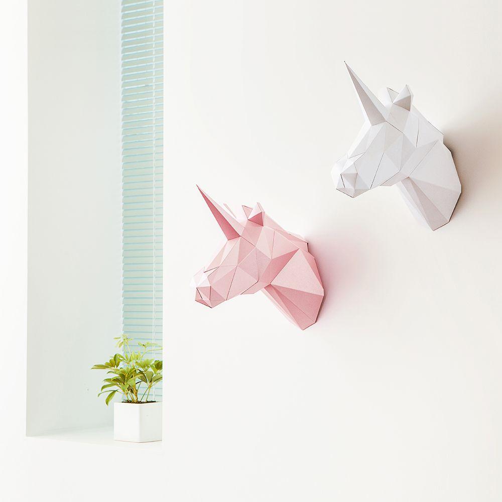PAPA Play art Polygon art Unicorn