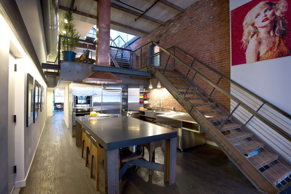Tribeca Converted Warehouse Loft Elegant And Funky