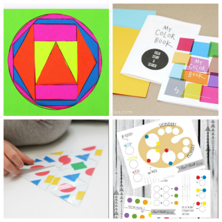 Printables to Learn about Colors and Shapes