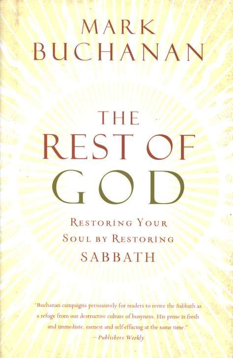"""Widely-acclaimed author Mark Buchanan states that what we've really lost is """"the rest of God-the rest God bestows and, with it, that part of Himself we can know only through stillness."""" Stillness as a virtue is a foreign concept in our society, but there is wisdom in God's own rhythm of work and rest. Jesus practiced Sabbath among those who had turned it into a dismal thing, a day for murmuring and finger-wagging, and He reminded them of the day's true purpose: liberation-to heal, to feed…"""