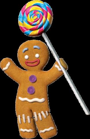 Gingerbread Man Gingerbread man shrek, Shrek character