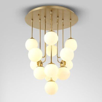 Just Us 692 07 Post Modern Stylish Pendant Light With Gl Ball 220v Online