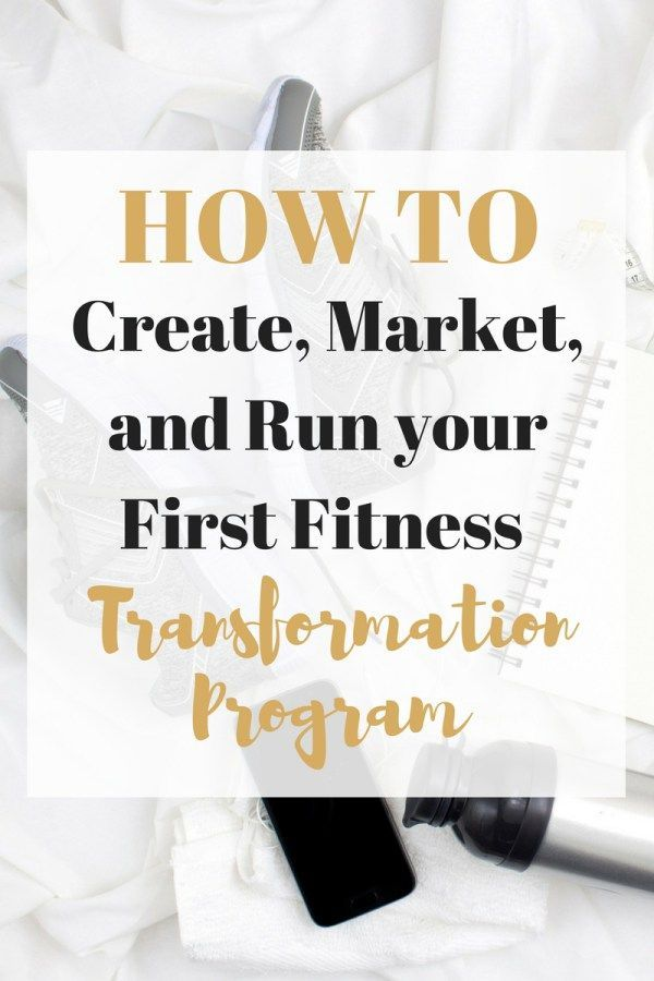 How I Created My First Fitness Transformation Program   - Fitness Inspiration from Friends - #Create...