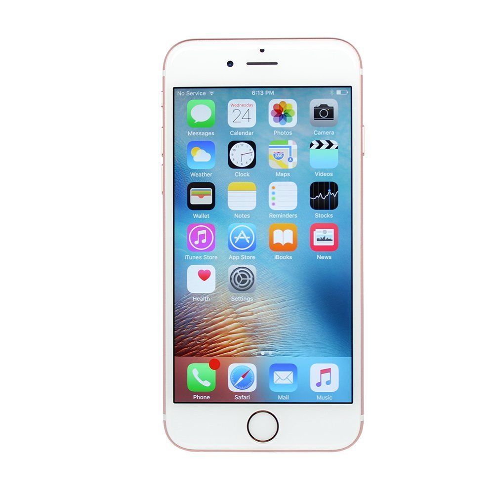 check out 27a4e 8fdfe Amazon.com: Apple iPhone 6S Plus, GSM Unlocked, 16GB - Rose Gold ...