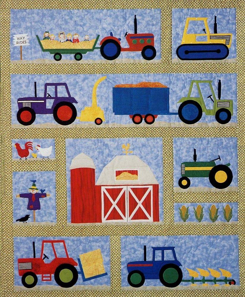 Krueger Christmas Tree Farm: - On The Farm Quilt Pattern