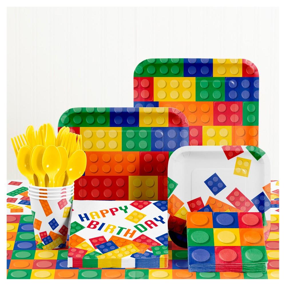 Building Blocks Birthday Party Supplies Kit in 2020