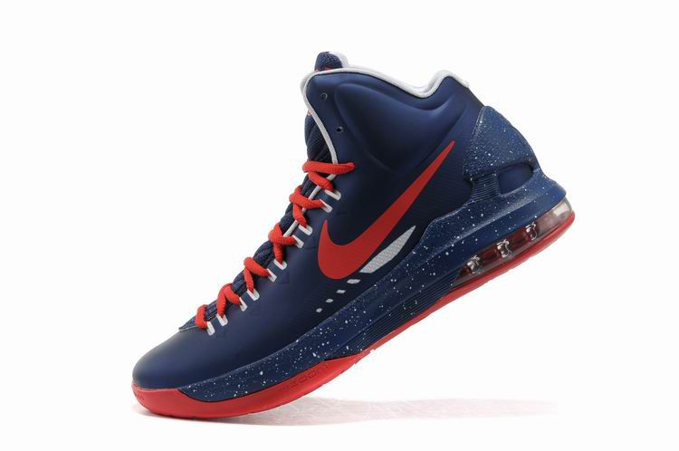 new product 40c57 1eac6 kevin durant shoes 2013 Nike KD V Navy Bright Crimosn University Red Street  Grey