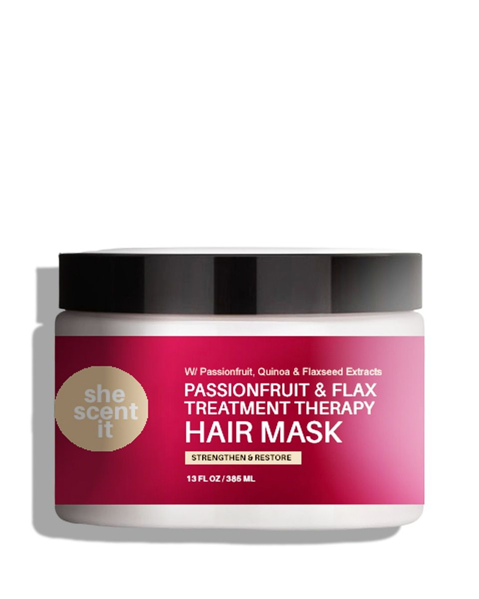Passionfruit Flax Treatment Therapy Hair Mask Hair Mask Hair Repair Mask Treatment