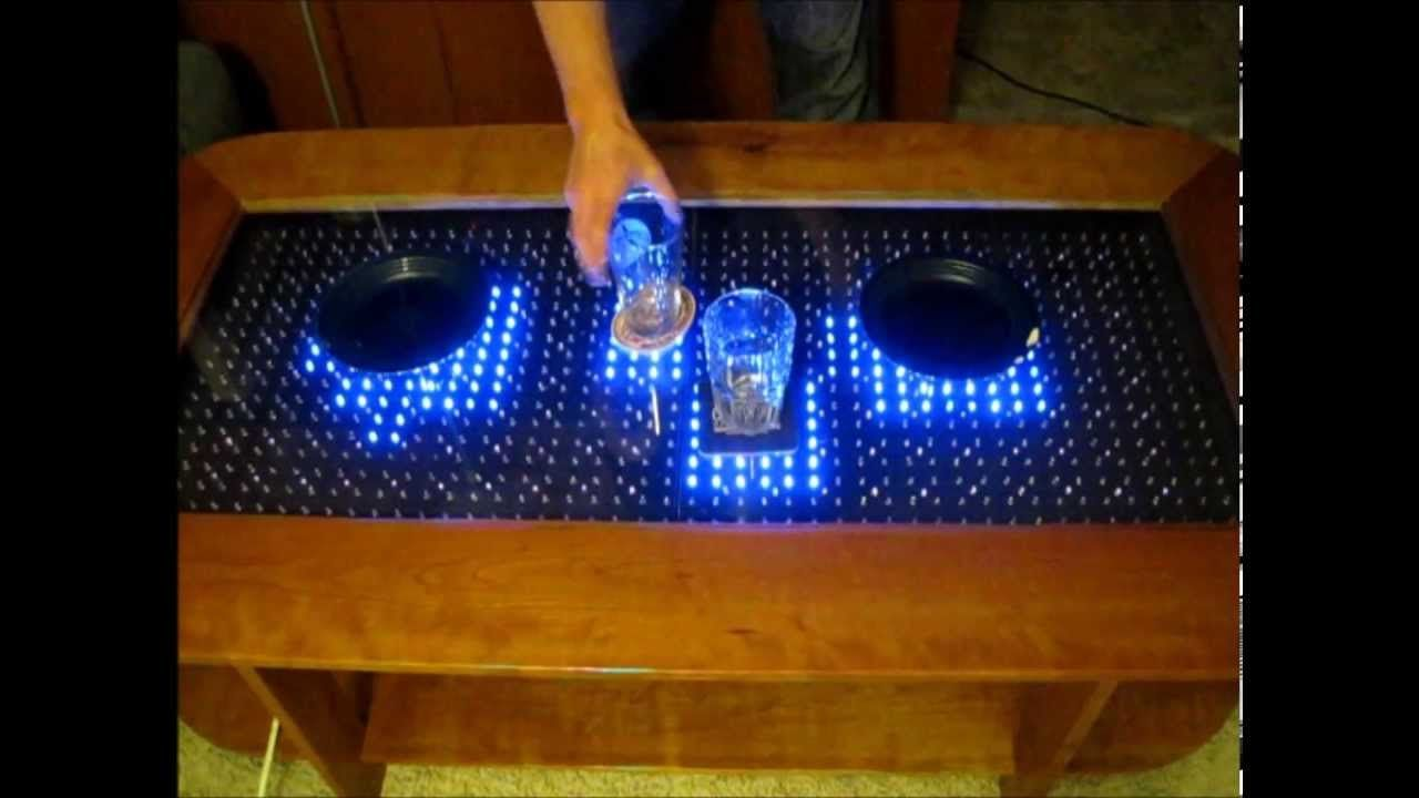 Reactive Led Coffee Table Arduino Selber Bauen Elektronik
