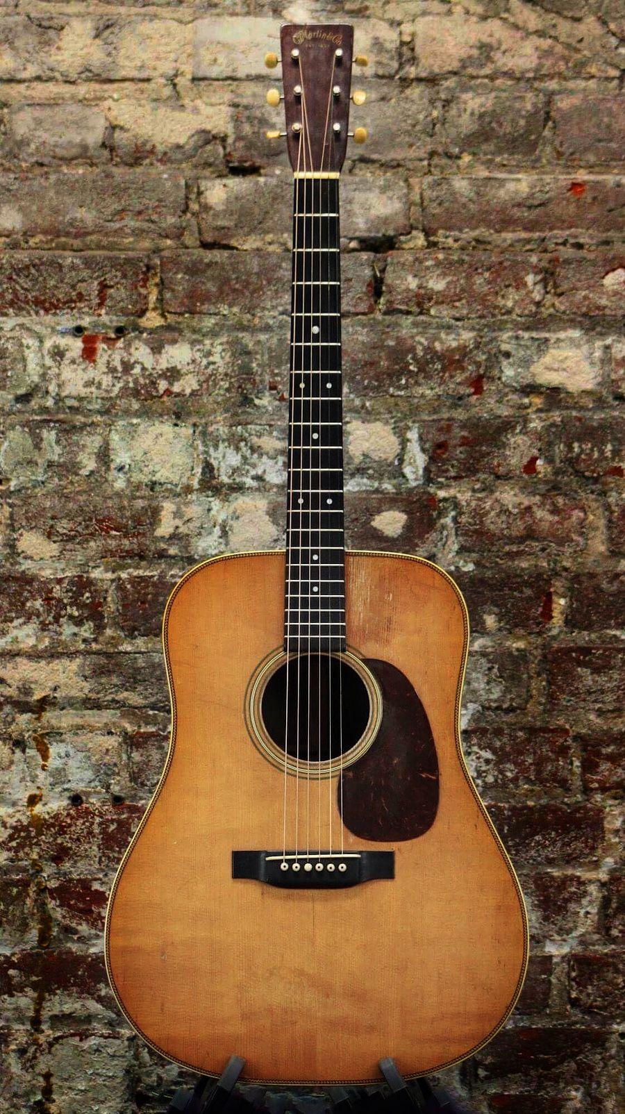 herringbone guitar Vintage