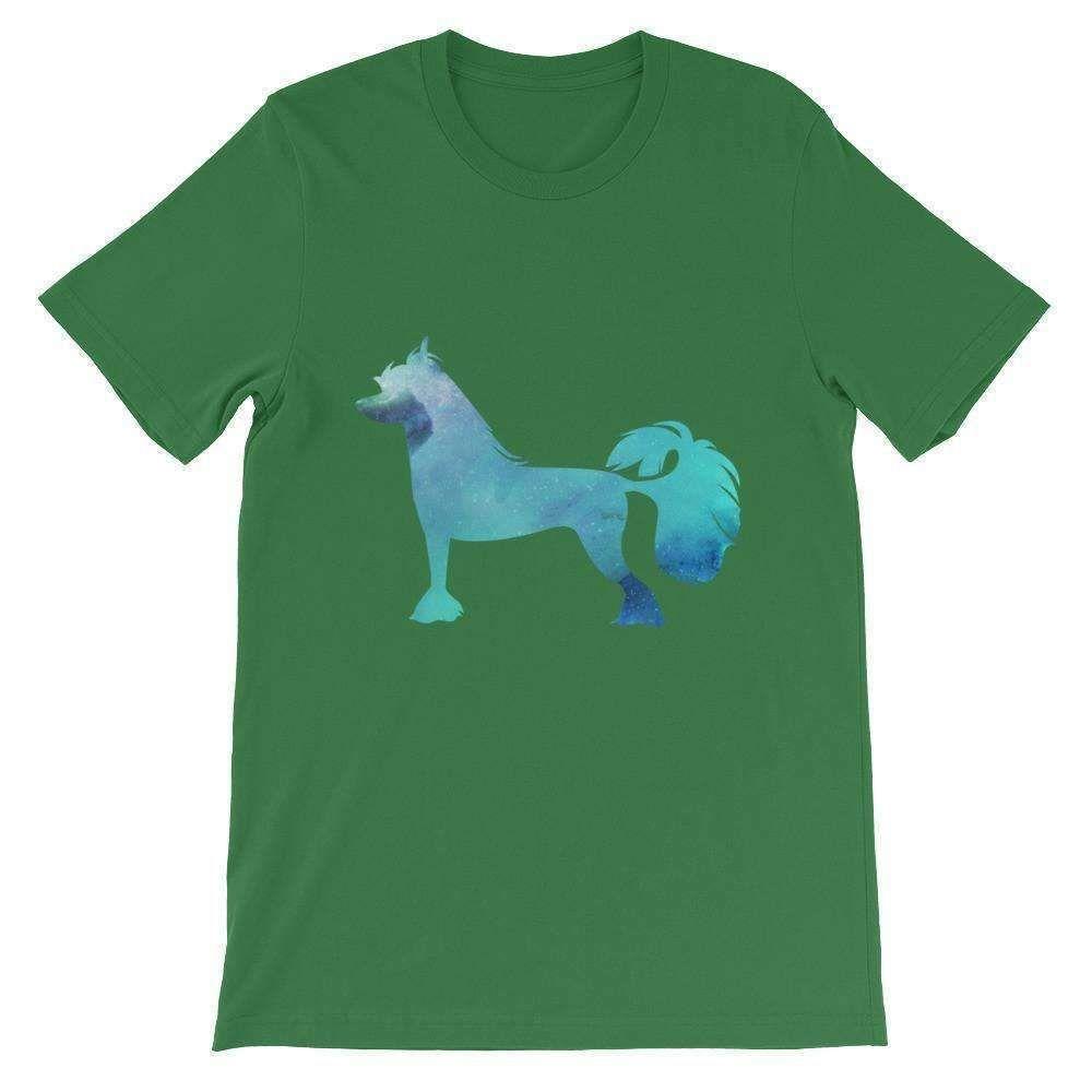 Chinese Crested Galaxy Design - Unisex short sleeve t-shirt