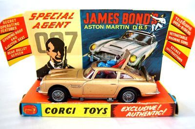 60s Vintage Corgi 261 007 James Bond Aston Martin Db5 Diecast Car 1965 Uk Toy Corgi Toys Toys Aston Martin Db5