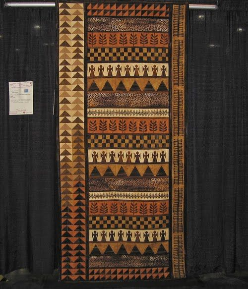 Clay and Fiber: more from the Quilt Show .....