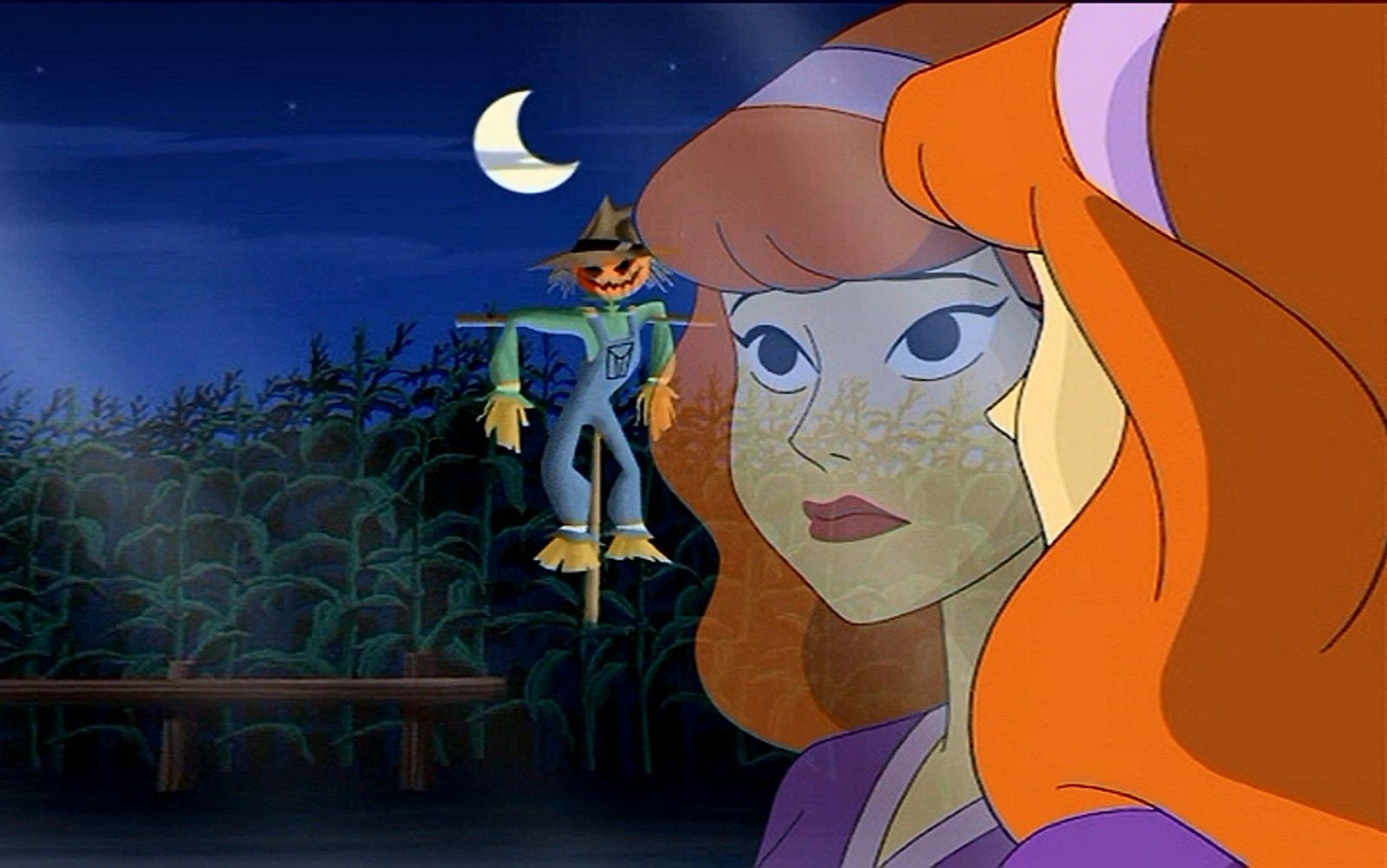 Scooby Doo Fred and Daphne Kiss Jeepers , i t s ure is