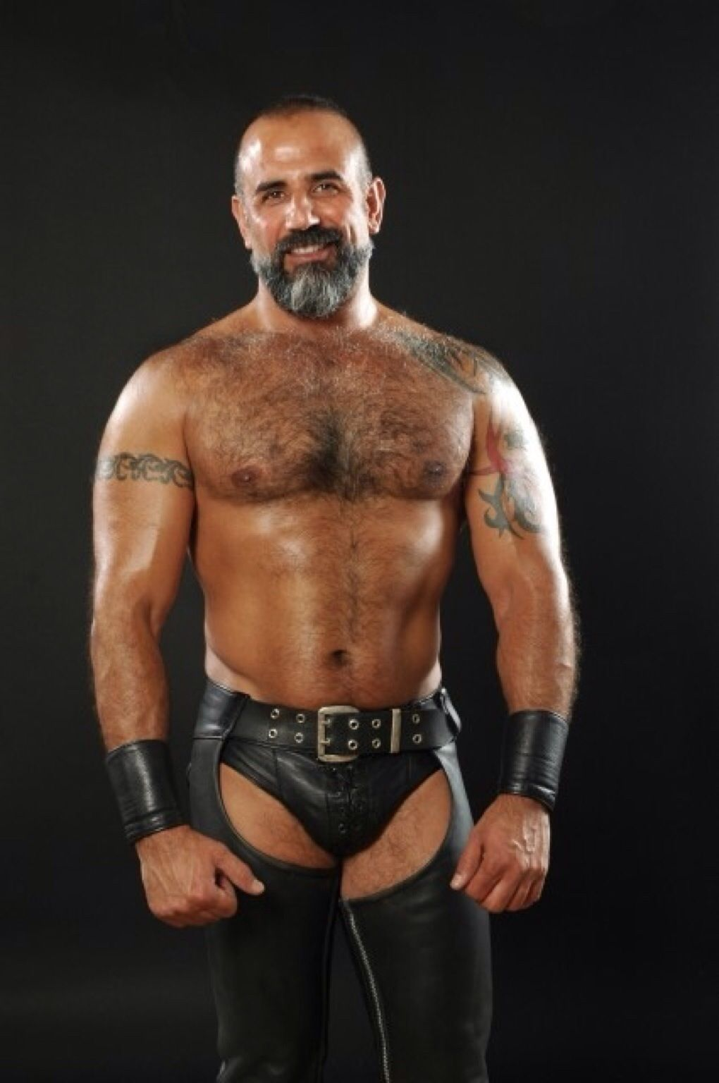 Leather Jock And Chaps Beards And Leather Pinterest
