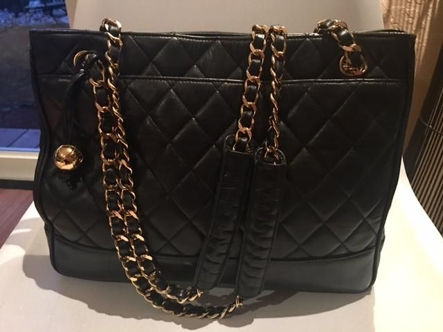 419bd5505d645 Chanel Lambskini W gold Tone And Cc Ball Charm Vintage Shoulder Bag. Get  one of the hottest styles of the season! The Chanel Lambskini W gold Tone  And Cc ...
